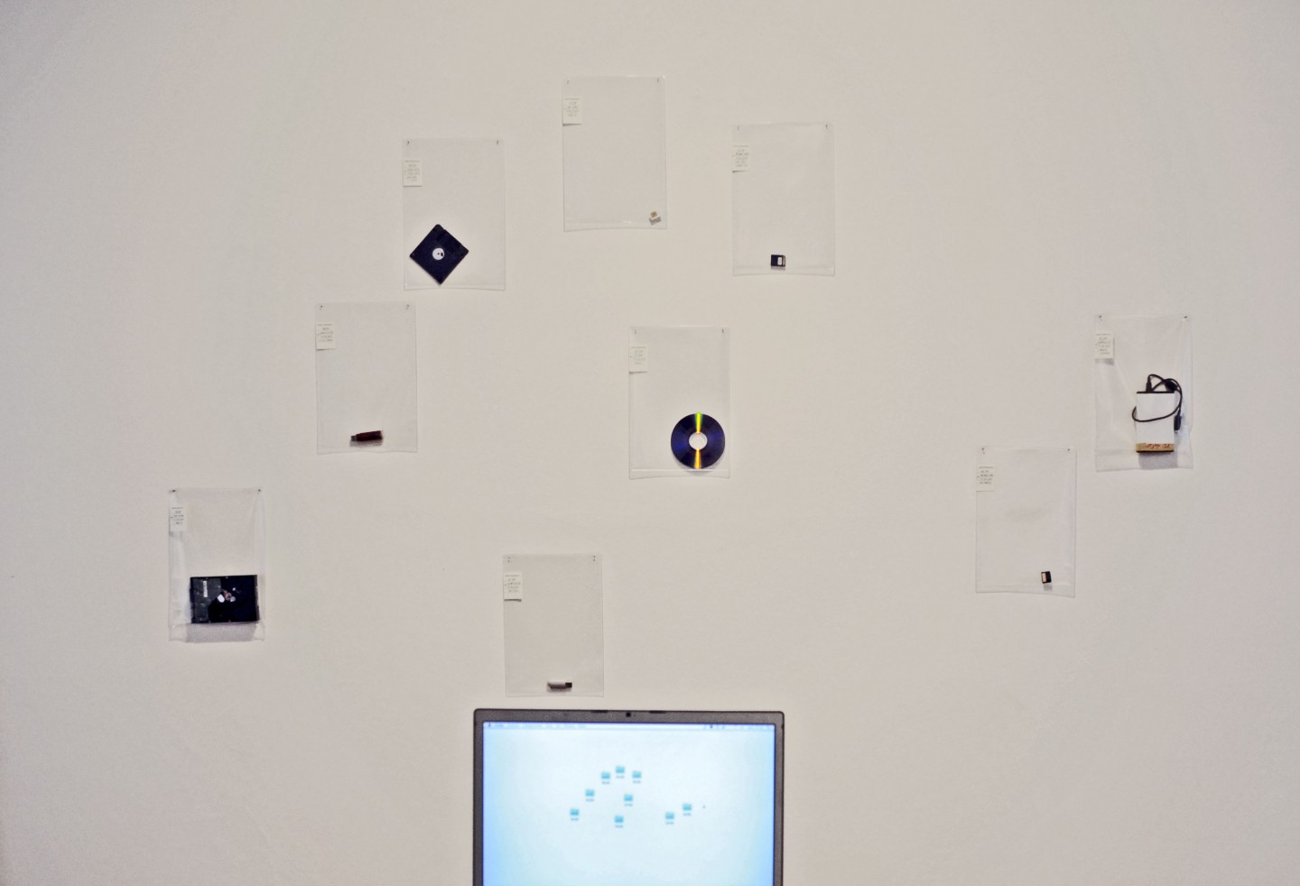 An inventory of lost memories, installation view.